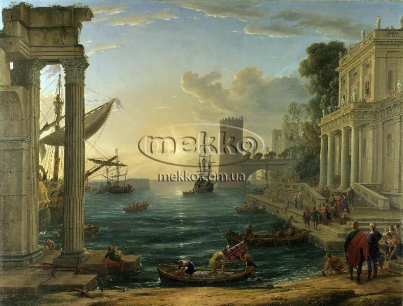 Картина Морський порт, Клод Верне  Ужгород