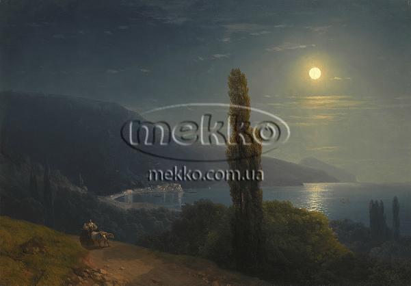 Картина Кримське узбережжя в місячному світлі, І.К. Айвазовський  Ужгород