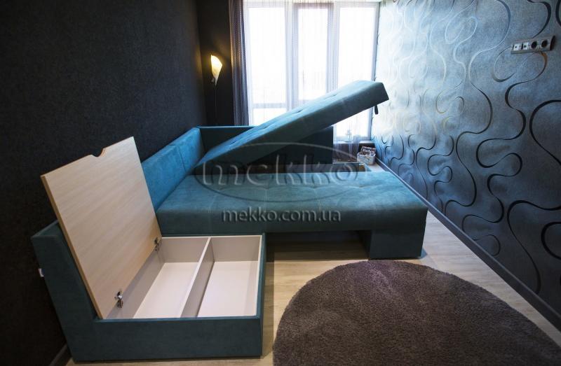 Кутовий диван з поворотним механізмом (Mercury) Меркурій ф-ка Мекко (Ортопедичний) - 3000*2150мм  Ужгород-7